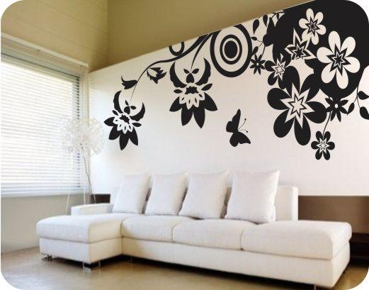Natura stickere perete stickere perete - Decoracion de interiores con vinilos decorativos ...